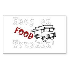 Keep on Food Truckin' Decal