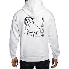 Bullwrinkle Trade Mark Blk/Hoodie