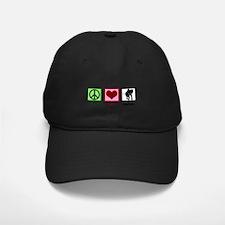 Peace Love Elephants Baseball Hat