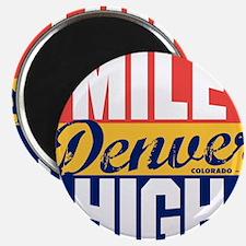 Denver Vintage Label B Magnets