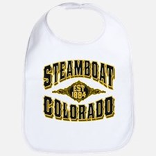 Steamboat Colorado Old Gold Bib