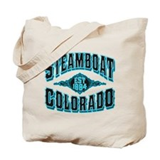 Steamboat Colorado Black Ice Tote Bag