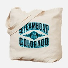 Steamboat Colorado Black Ice Tote Bag