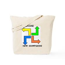 Geocache New Hampshire Tote Bag