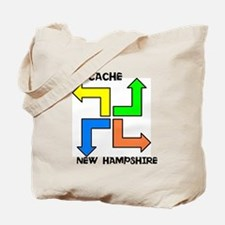 Geocache New Hampshire Tote Bag