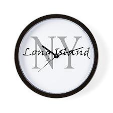 Long Island thru NY Wall Clock