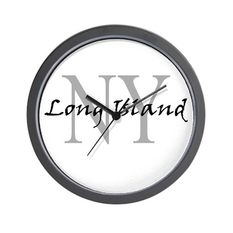 Long Island thru NY Wall Clock