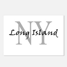 Long Island thru NY Postcards (Package of 8)