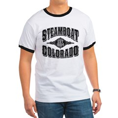 Steamboat Colorado Black Silver T