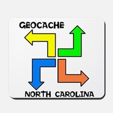 Geocache North Carolina Mousepad