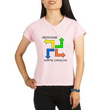 Geocache North Carolina Performance Dry T-Shirt