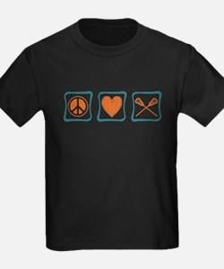 Peace, Love and Lacrosse T