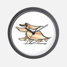 Afghan Hound Lover Wall Clock