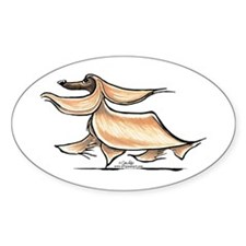 Afghan Hound Lover Decal