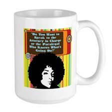 Paralegal In Charge [Groovy E Mug