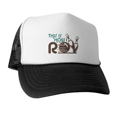 Funny Bowling Trucker Hat