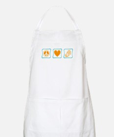 Peace, Love and Running Apron