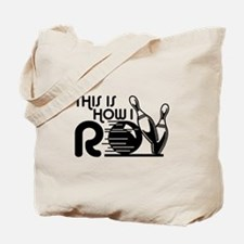 Funny Bowling Tote Bag