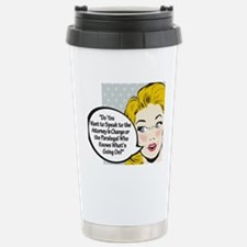 Paralegal In Charge [Toon Edi Travel Mug