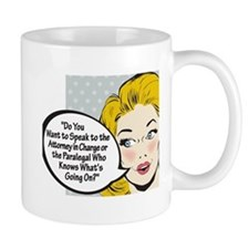 Paralegal In Charge [Toon Edi Mug