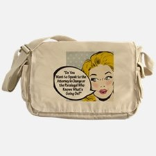 Paralegal In Charge [Toon Edi Messenger Bag