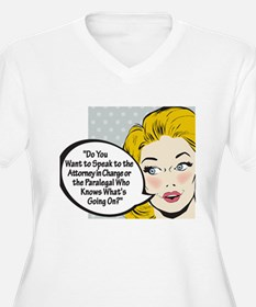 Paralegal In Charge [Toon Edi T-Shirt