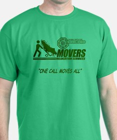 Orchid Movers LOST Green T-Shirt