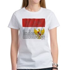 Silky Flag of Indonesia Tee