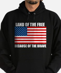 Because of the Brave Hoodie