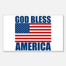 God Bless America Decal