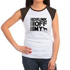 Drunk Off My Ass Women's Cap Sleeve T-Shirt