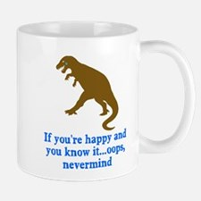 T Rex Can't Clap Hands Mug