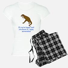 T Rex Can't Clap Hands Pajamas