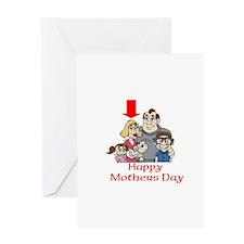 Funny May day Greeting Card