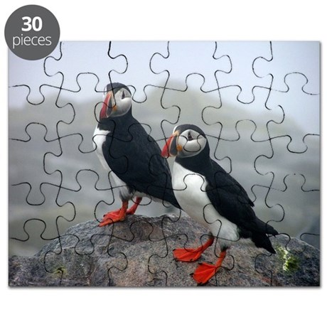 Puffins Keeping Watch Puzzle