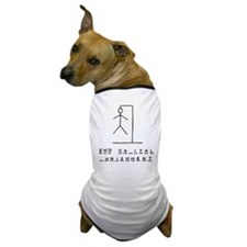 Ironic Hangman Dog T-Shirt