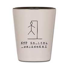 Ironic Hangman Shot Glass