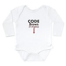 Code Brown IN PROGRESS Body Suit