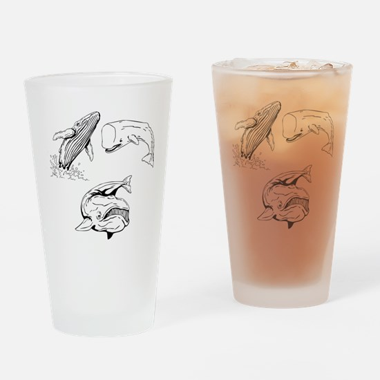 Whale Drinking Glass