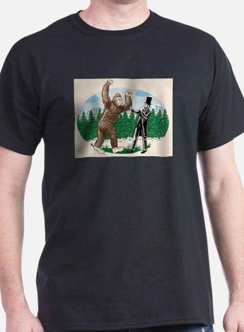 BigfootVsAbe T-Shirt