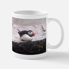 Puffin Sitting Small Small Mug
