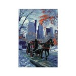 First Snow Rectangle Magnet (10 pack)