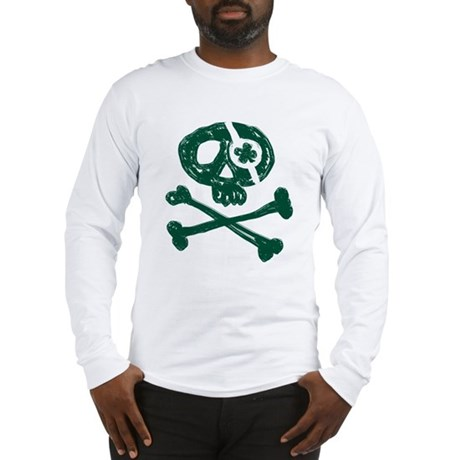 Funny St. Patty's Pirate Long Sleeve T-Shirt