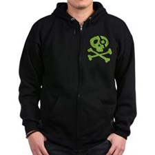 Funny St. Patty's Pirate Zip Hoody