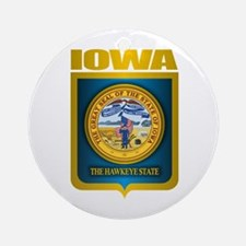 """Iowa Gold"" Ornament (Round)"