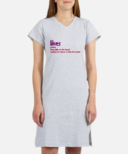 Places To Hide The Bodies Women's Nightshirt