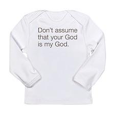 Not My God Long Sleeve Infant T-Shirt