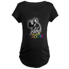 Abe In Da House Maternity T-Shirt