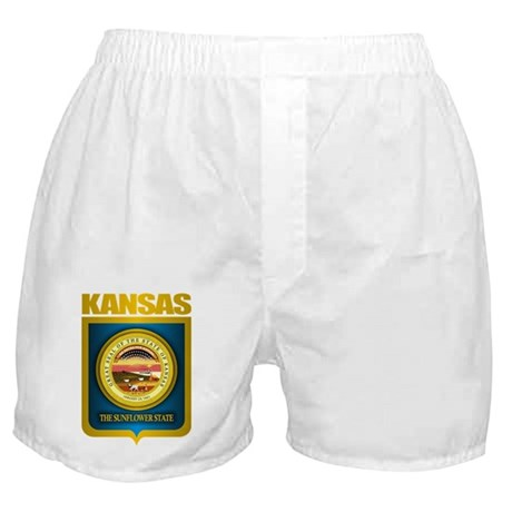 """Kansas Gold"" Boxer Shorts"