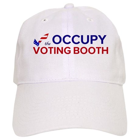 Occupy Voting Booth Cap